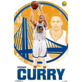 Golden State Warriors - Stephen Curry 15 plakatutskrift