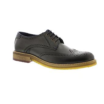 Ted Baker Prycce - Grey Leather Mens Shoes