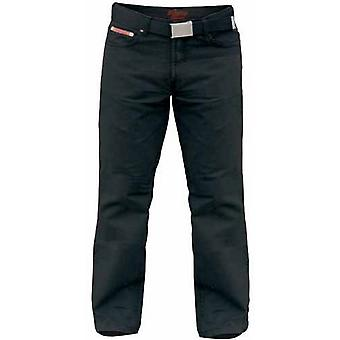 Duke London Mens Kingsize Mario Bedford Cord Trousers With Belt