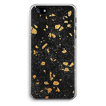 iPhone 5 / 5S / trasparente SE caso (Soft) - Terrazzo N ° 7