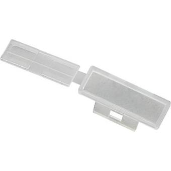 Badge Mounting type: Cable tie Writing area: 30 x 9.50 mm Ecru