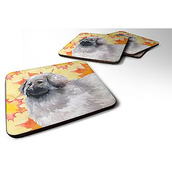 Set of 4 Moscow Watchdog Fall Foam Coasters Set of 4