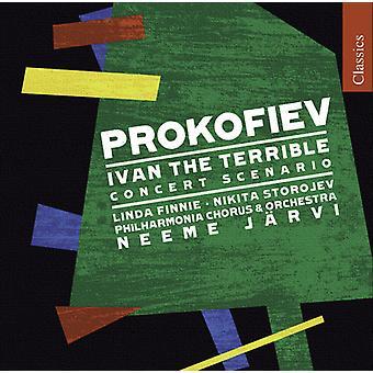 S. Prokofiev - Prokofjev: Ivan de verschrikkelijke [CD] VS importeren