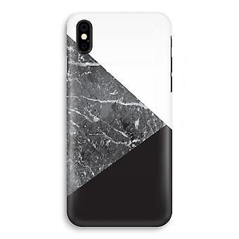 iPhonegeval X volledige Print - marmer combinatie