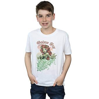 DC Comics Boys Poison Ivy Paisley T-Shirt
