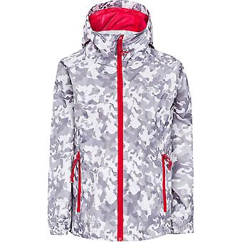 Trespass Boys Qikpac Printed Packaway Waterproof Shell Jacket