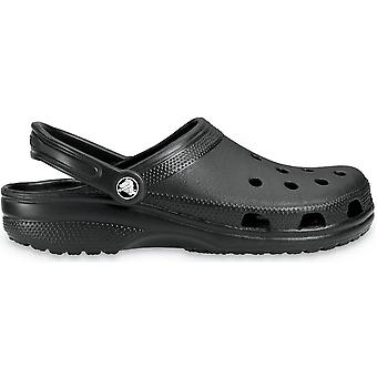Crocs Ladies Classic Unisex Croslite Breathable Strap Beach Clog Black