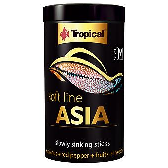 Tropical 67713 Soft Line Asia S 100 ml (Fish , Food , Warm Water)