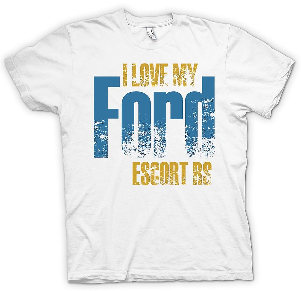 Mens t-shirt - amo mia Ford Escort Rs - appassionato di auto