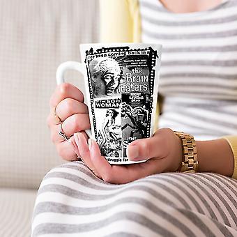 Vintage Horror filmowy nowy kubek kawy Latte ceramiczna Biała herbata 17 oz   Wellcoda