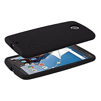 Incipio DualPro amortiguador caso para Motorola Nexus 6 - negro