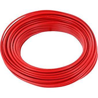 Strand 1 x 0.14 mm² Red BELI-BECO L118/10 rot 10 m