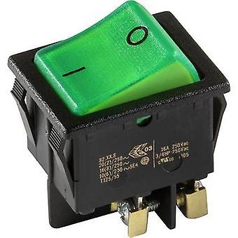interBär Toggle switch 3636-250.22 250 V 16 A 1 x Off/On latch 1 pc(s)