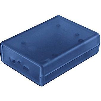 Freescale Freedom casing 92 x 66 x 28 Acrylonitrile butadiene styrene Blue Hammond Electronics 1593HAMFREE2TBU 1 pc(s)