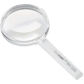 Handheld magnifier Magnification: 2.3 x Lens size: (Ø) 80 mm Eschenbach 261480