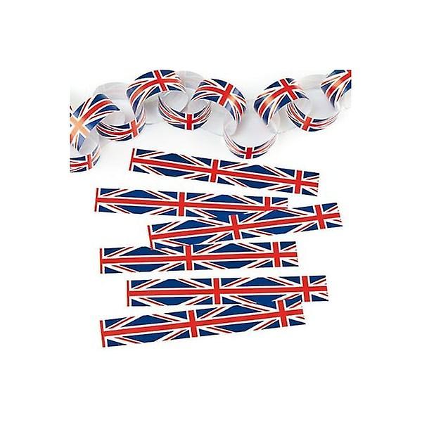 Union Jack Wear Union Jack Paper Chain Kit
