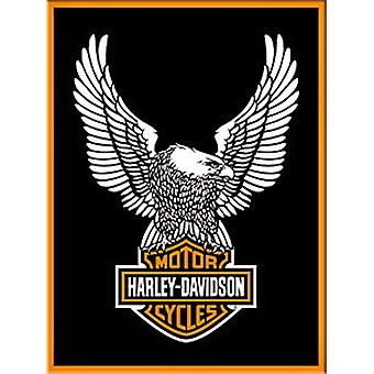 Harley Davidson Eagle stalen Fridge Magnet