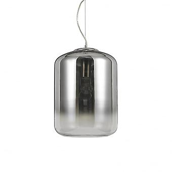 Ideal Lux Ken simple pendentif lumineux grand Chrome