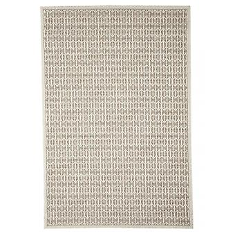 Outdoor carpet for Terrace / balcony beige natural white Skandi look Stuoia mink 130 / 190 cm carpet indoor / outdoor - for indoors and outdoors