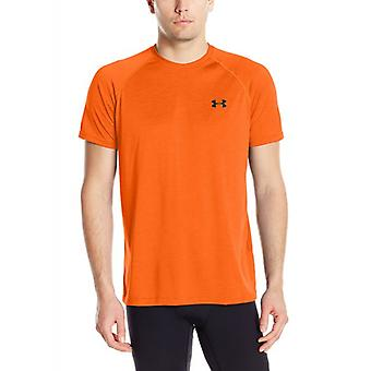 Under Armour tech short-sleeved tee men's Orange 1228539