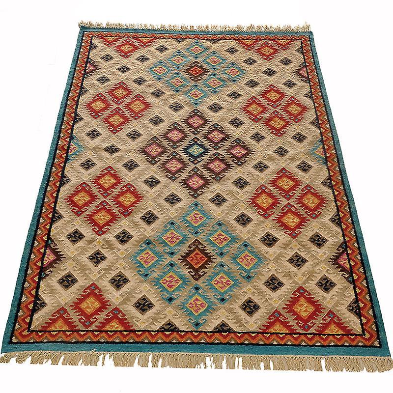 Teppiche - Kelim Deluxe - 126090 - 545 Beige