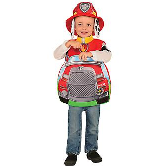Marshall Candy Catcher Paw Patrol Rescue Dogs Book Week Toddler Boys Costume 2-4