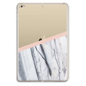 iPad ミニ 4 透明ケース (ソフト) - 桃のタッチ