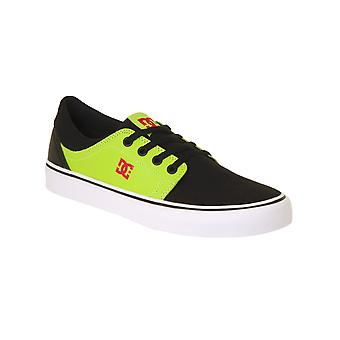 DC Black-Red-Green Trase SE - Glow In The Dark Kids Shoe