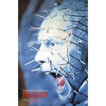 Hellraiser III Poster  'pinhead' screaming
