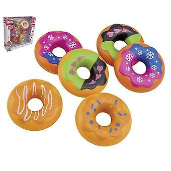 Happy People Donut 6 Stuks