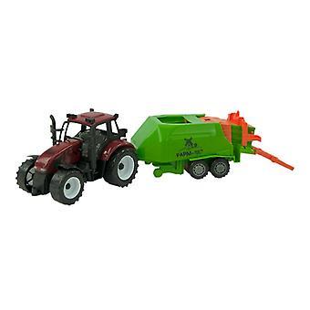 Tractor frictie met balenmaker 40cm