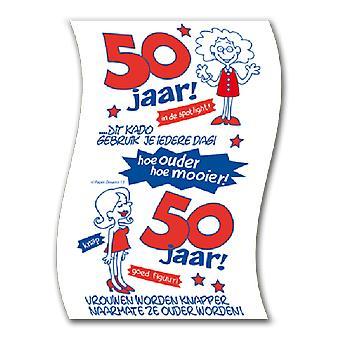 Toiletpapier 50jaar vrouw nr12