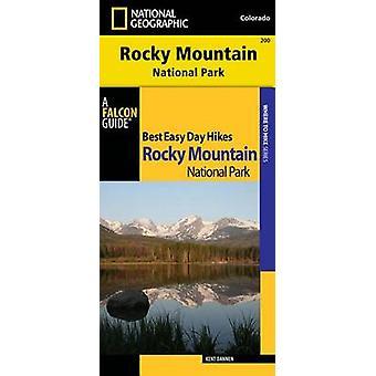 Meilleur jour facile, Guide de randonnée et de Trail Map Bundle - Rocky Mountain Natio