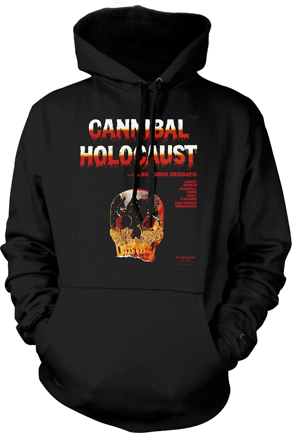 Mens Hoodie - Cannibal Holocaust - Horror - Poster