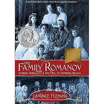 De familie Romanov: moord, opstand & de val van het Keizerrijk Rusland (Orbis Pictus Award voor Outstanding non-fictie...