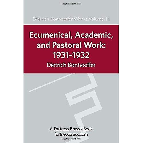 EcuHommesical, Academic, and Pastoral Work  1931-1932