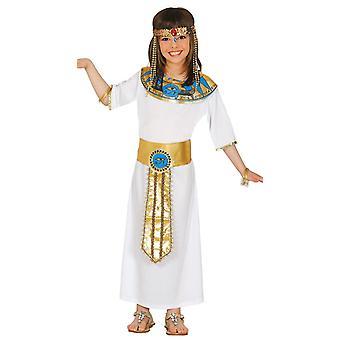 Girls Egyptian Cleopatra Fancy Dress Costume