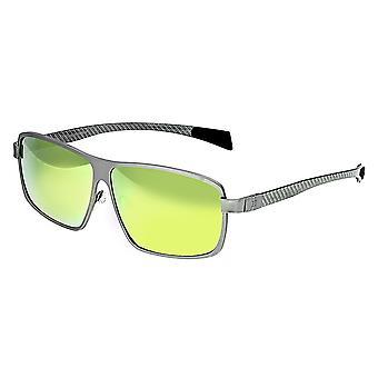 RAS Finlay Titanium gepolariseerde zonnebril - zilver/geel