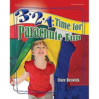 3-2-1: Time for Parachute Fun