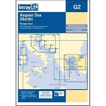 Imray Chart G2: Aegean Sea (North) (Imray Chart G002)