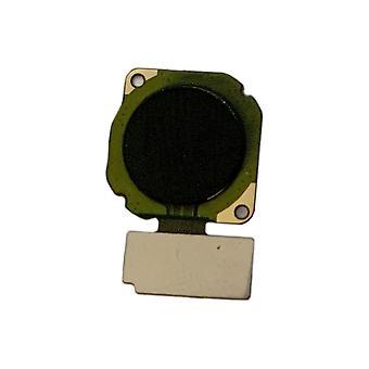 Fingerprint Flex Schwarz für Huawei P Smart 2019 / Honor 10 Lite Ersatzteil Ersatz Reparatur