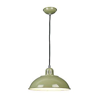 Elstead-1 licht hanger-groen-FRANKLIN/P GRN