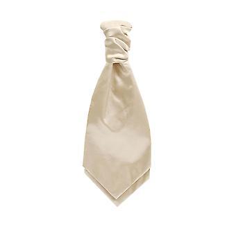 Dobell pojkar ljus guld Satin Cravat fest bröllop maskeraddräkter tillbehör