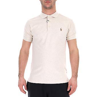 Ralph Lauren White Cotton Poloshirt