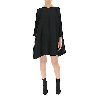Issey Miyake Black Polyester Dress