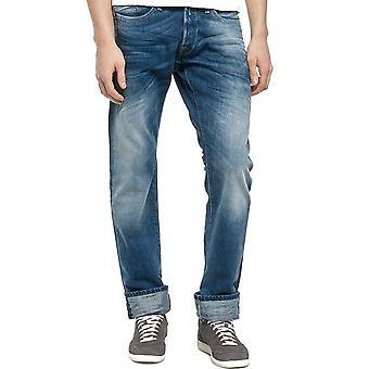 Replay Waitom MediumLight wash Denim Jeans  Straight Fit