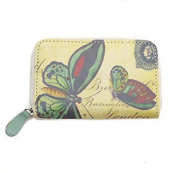 Desastres diseños Vintage mariposa monedero