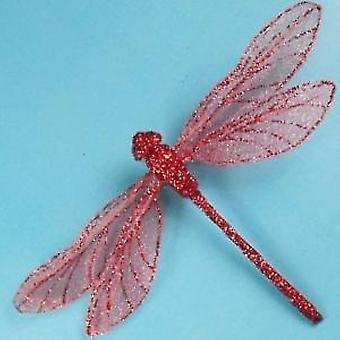 Artificial Mesh Glittered Dragonflies