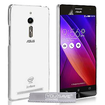 YouSave ASUS Zenfone 2 0.6mm Clear Gel Case
