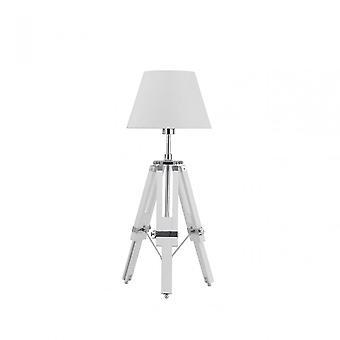 Premier Home Feature lampa, krom, vit